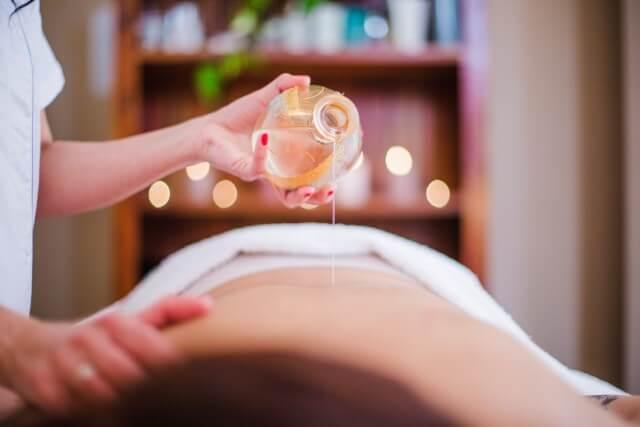 ventaja de un masaje sensitivo